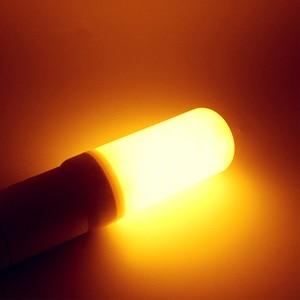 Image 2 - LED E27 Flame Bulb 3W 5W 7W 9W Corn Bulb Creative Flickering LED Light Dynamic Flame Effect 110V 220v E14 Lighting Lamp for Home