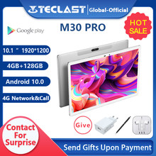 Teclast M30 Pro 10,1 Zoll Tablet P60 8 Core 4GB/6GB RAM 128GB ROM Android 10 tabletten PC 1920x1200 IPS 4G Anruf Dual Wifi GPS