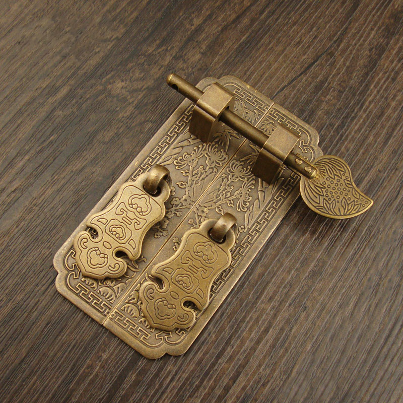5 Sets Brass Cabinet Handle Cupboard Door Handle Furniture Pulls Draw Handle Chinese Drop With Bolts Free Shipping|Cabinet Pulls| |  - title=