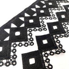 1 yard milk fiber Lace Ribbon Trim Applique for Costumes Dresses Trimmings 5-7 cm Fabric Embroidery Strip Sewing lace