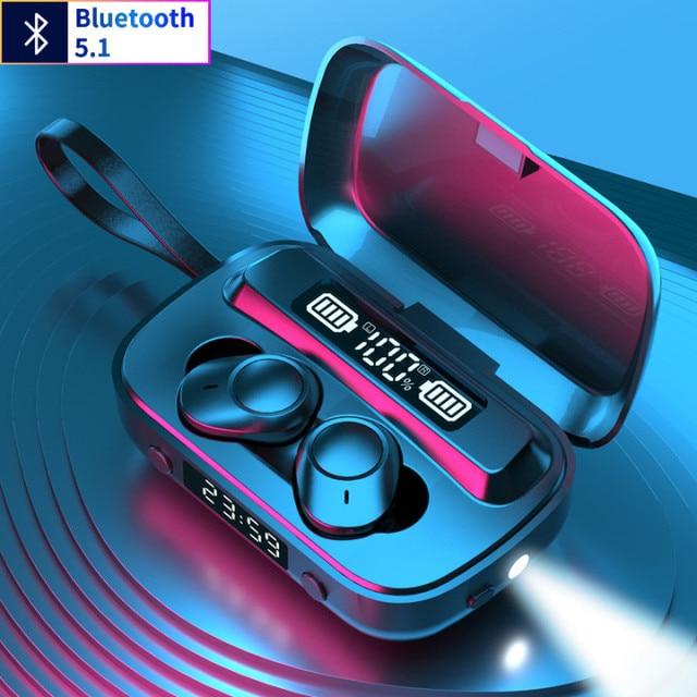 Mini Earbuds Wireless Bluetooth 5.1 Headset A13 Bluetoot headphones  HiFi Stereo Earphones TWS earphones for Sports and Gams 2