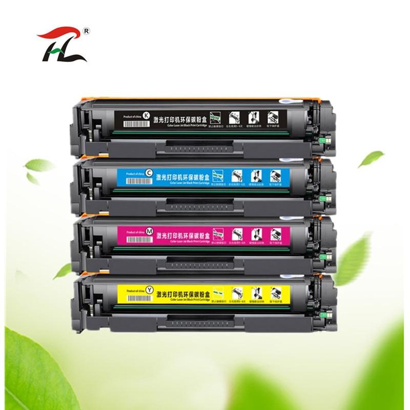 Compatible For Hp 203A CF540A 540a Toner Cartridge LaserJe Pro M254nw M254dw MFP M281fdw M281fdn M280nw Printer