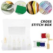 100 частей катушка вышивка крестиком коробка для хранения набор