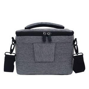Image 5 - Kamera kamera çantası sırt çantası dayanıklı Polyester omuz Crossbody çanta su geçirmez fotoğraf fotoğraf taşıma çantası Canon Nikon için