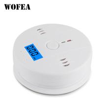Wofea LCD CO Sensor Arbeit Allein Gebaut In 85dB Sirene Sound Unabhängige Kohlenmonoxid-vergiftung Warnung Alarm Detektor cheap NONE CN (Herkunft) CO-01 Kohlenmonoxid-Detektoren 3pcs AA battery (not included) sound 85db