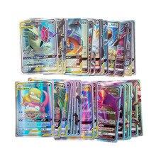 Carte Pokemon V MAX GX bambini più venduti battaglia versione inglese gioco Tag Team carte brillanti TOMY carte Pokemon