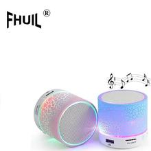 Portable Mini bluetooth Speakers mp3 stereo audio music player Hands Free LED Speaker TF USB FM Sound Music For Mobile Phone hy502s bluetooth car power amplifier stereo sound mode hifi 2 channel mini fm audio mp3 speaker music player for ipod hy 502s