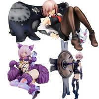 12cm Mash Kyrielight chat fille destin Grand ordre bouclier bête Sexy filles figurine japonais Anime PVC adulte figurines