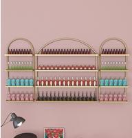Nail art nail polish rack wall nail display nail shop wall shelf