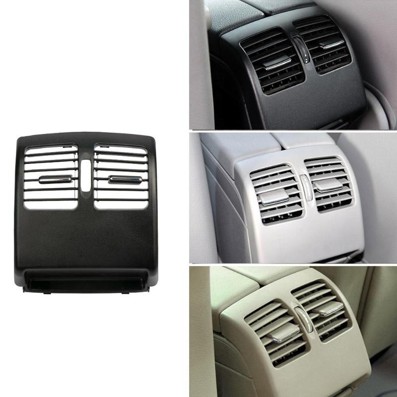 Car Rear Center Console A/C Air Conditioning Fresh Air Vent Outlet <font><b>Grille</b></font> Cover for Mercedes <font><b>Benz</b></font> C Class <font><b>W204</b></font> 2007-2014 image