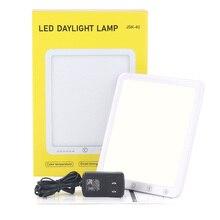 JSK 40  Full Spectrum Bright Light White 5 Levels brightness Adjustable LED Light mood Lamp for replenish energy
