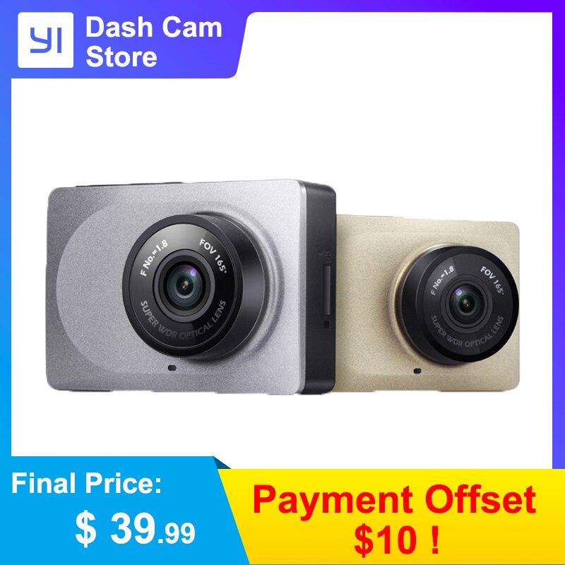 YI Traço Câmera de Vídeo Gravador De Wi-fi Inteligente Full HD DVR Carro Cam Night Vision 1080P 2.7