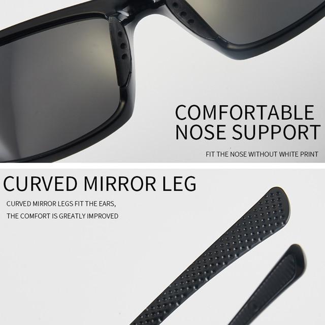 DAIWA Brand Polarized Glasses Mens Driving Sunglasses Camping Hiking Driving Fishing Glasses Outdoor Sports UV400 Eyewear