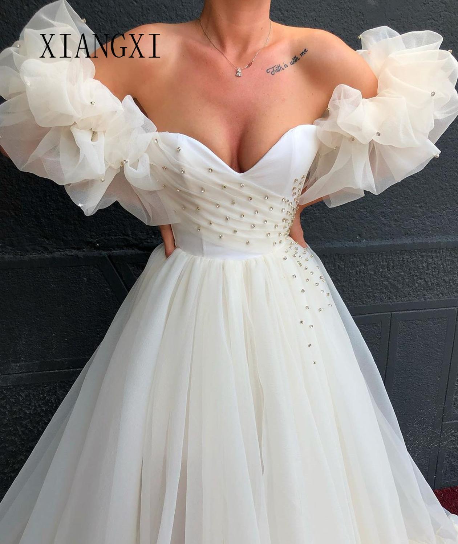 Charming White Evening Dresses Sweetheart Sleeveless Floor Length Evening Dress Long Formal Party Gowns Vestido De Festa longo