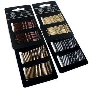 24Pcs Solid Color Metal Hair Pins Wave Type Invisible Hair Clip For Women Bangs Hairpins Fadeless Bobby Pins Hair Accessories