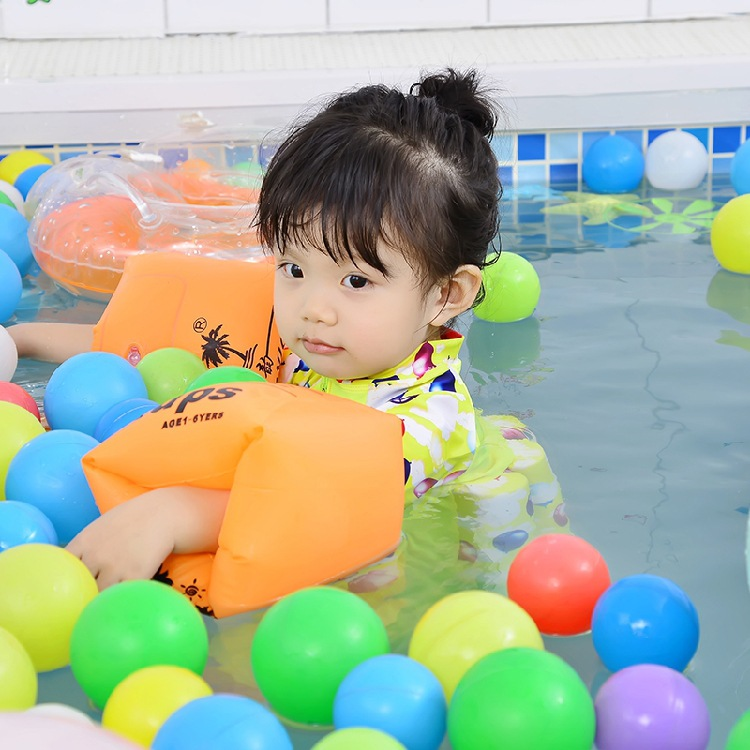 New Style Baby Floating Force Swimming Suit Men And Women Children Hot Springs One-piece Snorkeling Suit Send Celebrity Style Sw