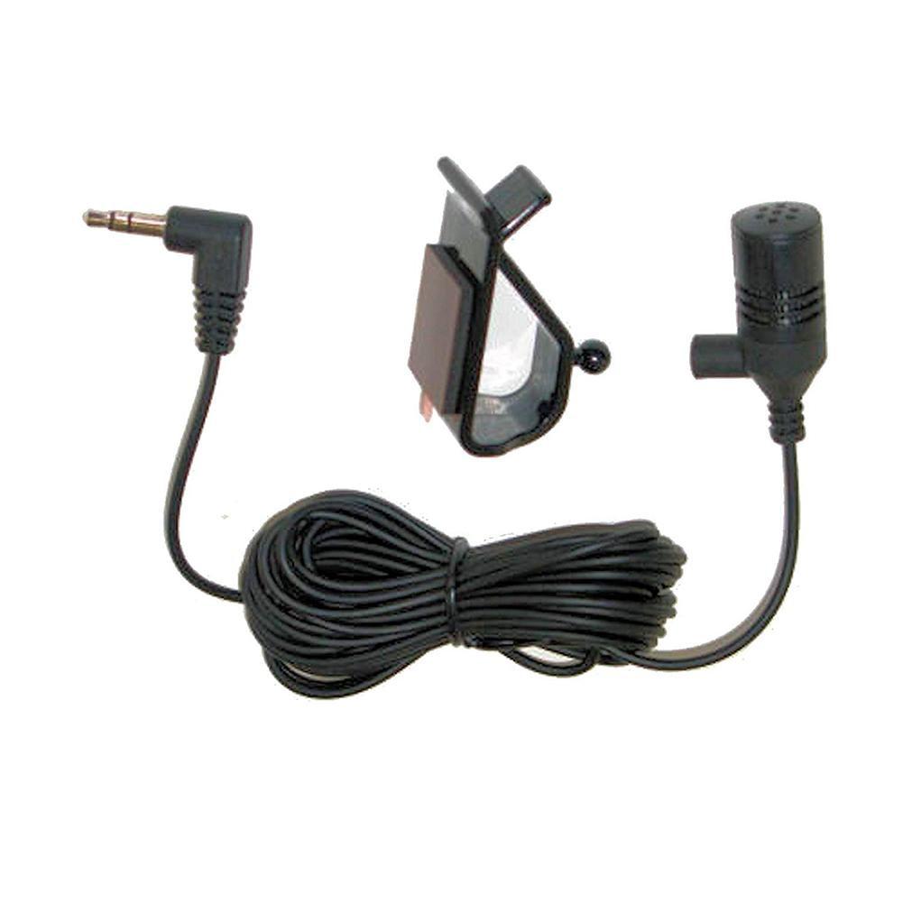 2.5mm Mini Lightweight Adjustable Elbow Mono Auto DVD Radio Bluetooth Car Microphone Paste Type Loud Speaker