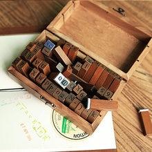 70 шт букв штампы diy ремесло игрушка для детей Дерево Английский