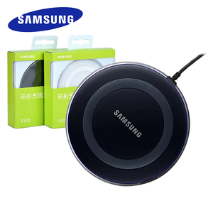 Samsung 5V/2A QI Wireless Charger Adapter Charge Pad For Galaxy S6 S7 Edge S10 S9 Plus Note 5 for iphone 8 plus X XS XR MAX(China)