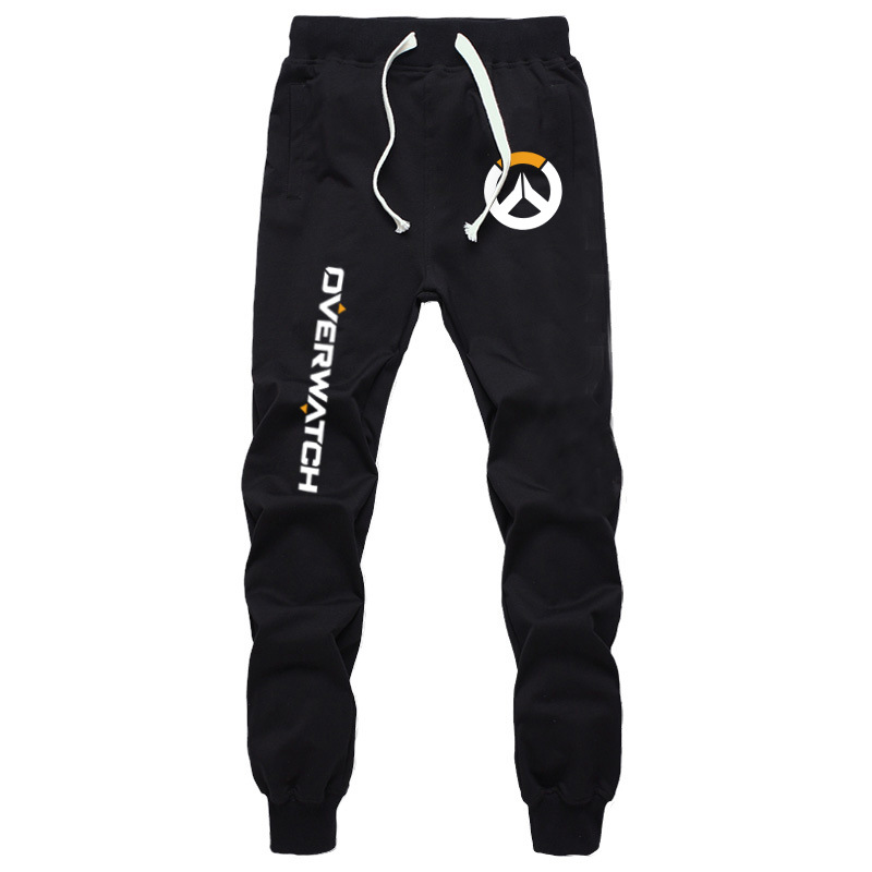 Spring And Autumn Watch Pioneer Long Pants Casual Sports Pants Game Related Products Men And Women Sweatpants Letter Sign Drawst