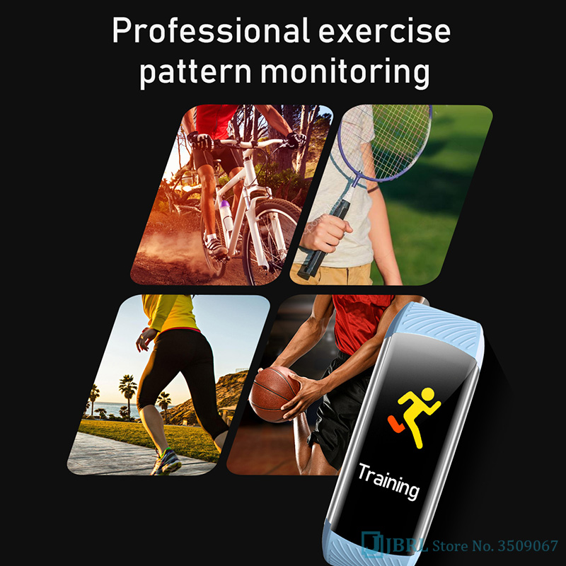 cheapest SHAOLIN Smart Watch Band Trcker Sport Pedometer Heart Rate Blood Pressure Bluetooth Health Wirstband for apple Android