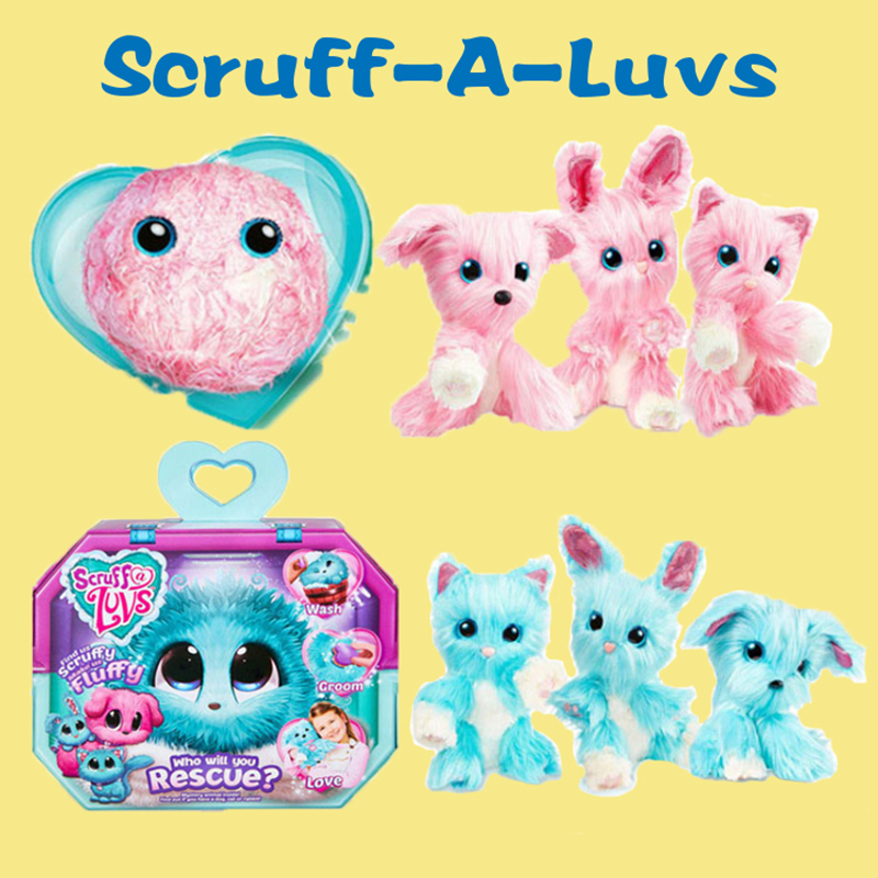 Scruff A Luvse Plush Toy Bath Dog Cat Who Will You Rescue Scruff Toys Animal Toys Kids Surprised Gift Christmas Gifts