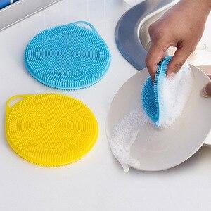 Image 5 - Многофункциональный Антибактериальный кухонный инструмент мочалка и щетка для Мойки Посуды