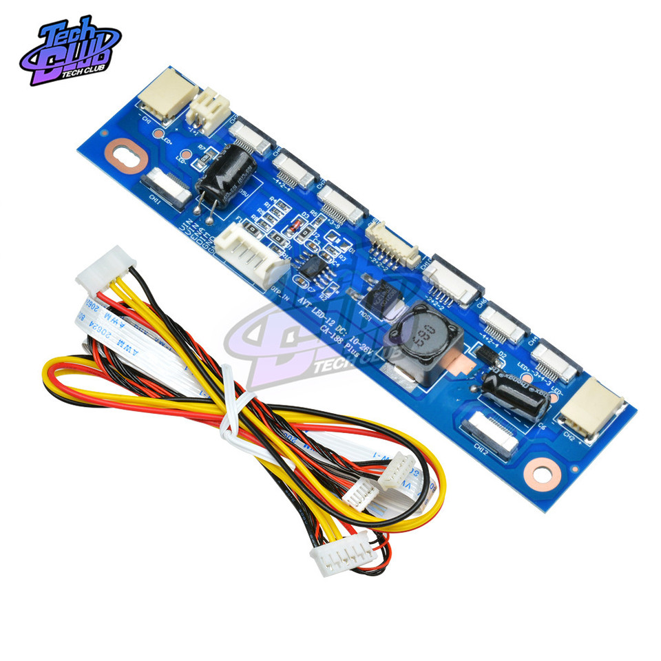 Durable LED Constant Current Board Driver Board 12 connecters LED Strip Tester