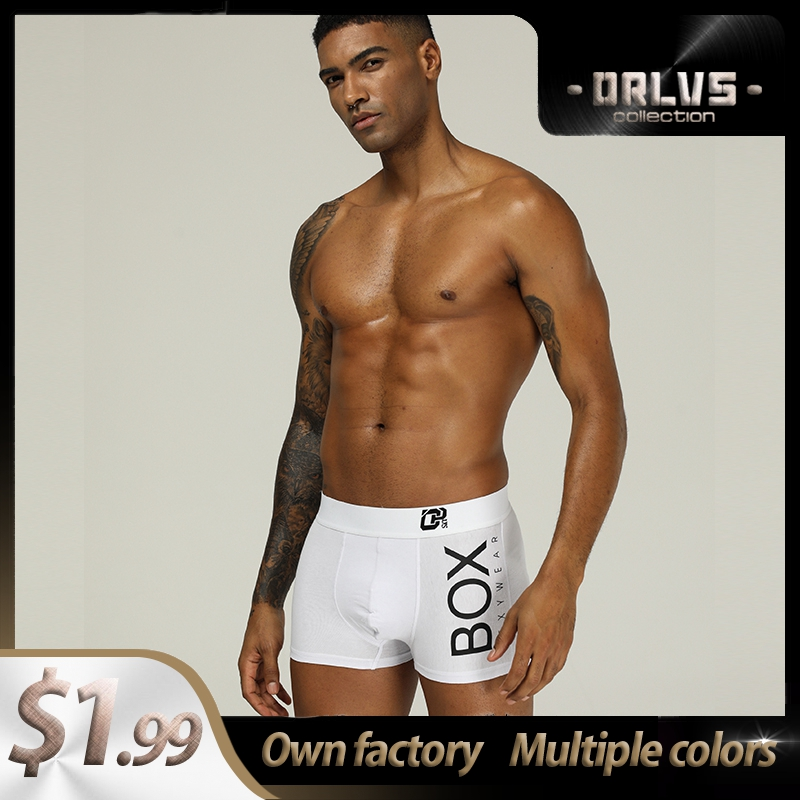 Long Boxer Cotton Breathable Sexy Men Underwear Boxer Shorts Popular Boxer For Men Mens Boxershorts Underware Boxers Transparent