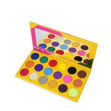 Makeup eyeshadow palette Box of crayons ishadow 18 colors crayola waterproof Shimmer and Matte eyeshadow