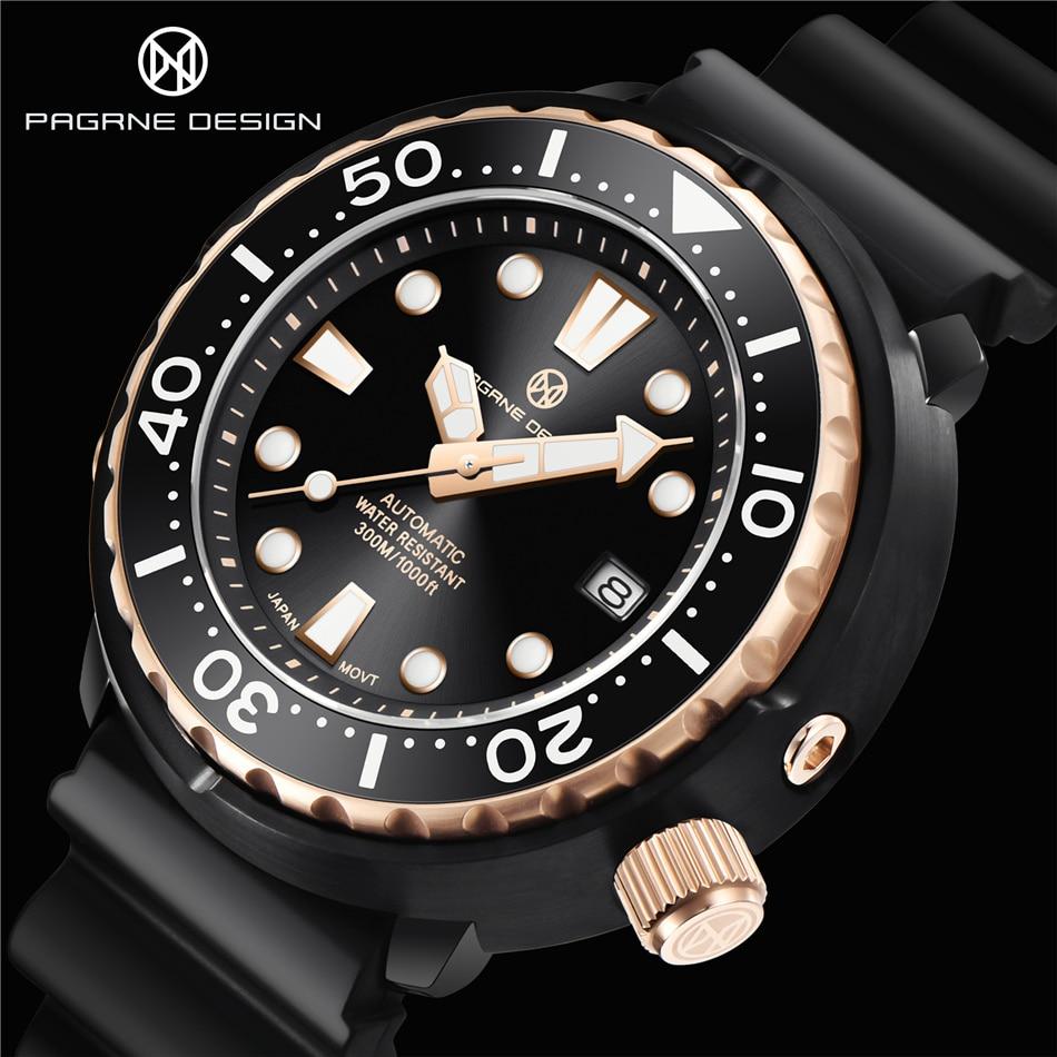 PAGRNE DESIGN Beautiful Mechanical Men's watch 2021