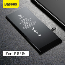 Baseus For iPhone 5 5S Battery 1560mAh High Capacity Replacement Batteries For iPhone 5S with Free Repair Tools cheap 1301mAh-1800mAh Compatible Apple iPhones Phone Battery For iPhone 5S 1560mAh 1400mAh Capacity for iPhone 5 1560mAh Capacity for iPhone 5s