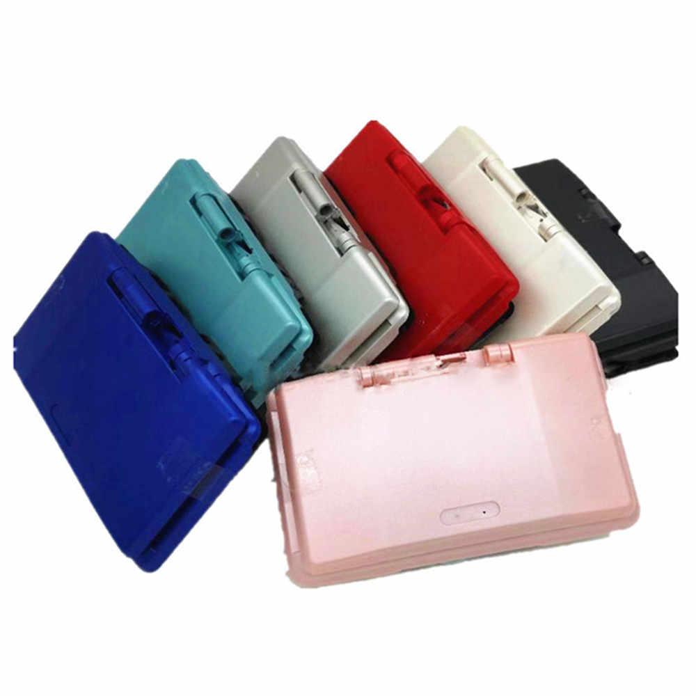 الإسكان شل غطاء مع أزرار ل نينتندو DS لعبة وحدة التحكم استبدال الغبار واقية ل NDS إصلاح أجزاء