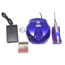 35000RPM nail manicure tool electric pedicure kit accessories and tools  file drill bits