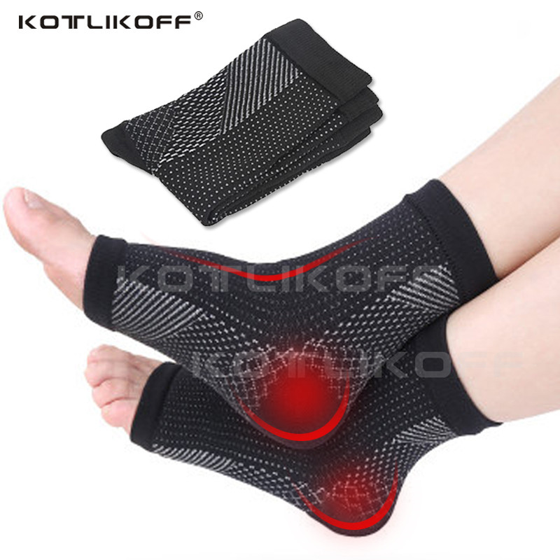 Men Women Foot Circulation Swelling Relief Foot Sleeve Socks Foot Anti Fatigue Compression Varicosity Ankle Support Socks Pads