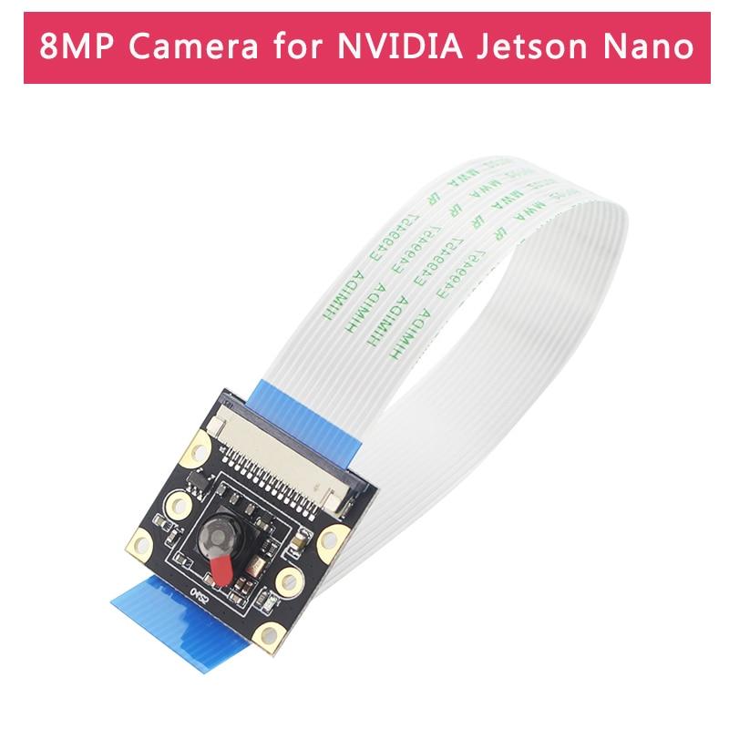 8MP IMX219 Camera For NVIDIA Jetson Nano 77 Degree 1080P  CSI Camera Module For Jetson Nano With 15 Cm Flexible Flat Cable
