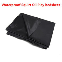 quality waterproof bedsheet bedspread bedclothes for squirt sexual oil play for couples black fetish sex toys XLYLWW XY8000