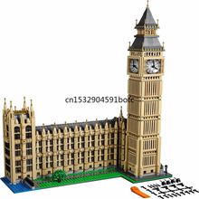 IN STOCK Building-Blocks Bricks 17005 Compatible with Lepining Creator Big Ben 10253 Toys Gifts for Children