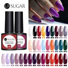 UR SUGAR 122 Colors Gel Nail Polish Set  Nail Color UV LED Nail Gel Varnish Semi Permanent Soak Off Glitter Gel LacquereNail Gel
