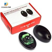 Sensor infravermelho feixe de segurança fotocélula detector para porta da garagem liftmaster chamberlain doorhan agradável|Sensor e detector| |  -