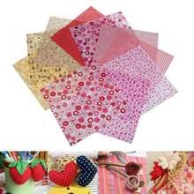 50ピース/ロットソフト無地綿生地パッチワークの布手作りdiyキルティング縫製工芸品クッションバッグテキスタイル材料25 × 25センチメートル