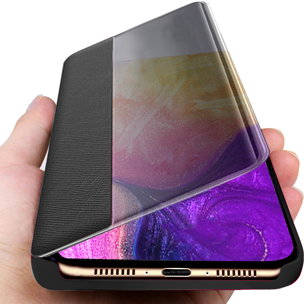 Coque,<font><b>Cover</b></font>,Case,For <font><b>Samsung</b></font> <font><b>A70</b></font> Protective <font><b>Cover</b></font> Bag Leather Flip Case For <font><b>Samsung</b></font> Galaxy A10 A20 A30 A40 A50 A60 <font><b>2019</b></font> Fundas image
