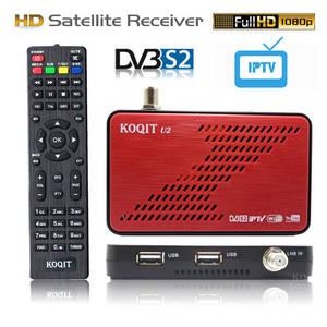 Koqit U2 DVB S2 satellite receiver satellite Finder Internet Scam Cs Biss VU decoder