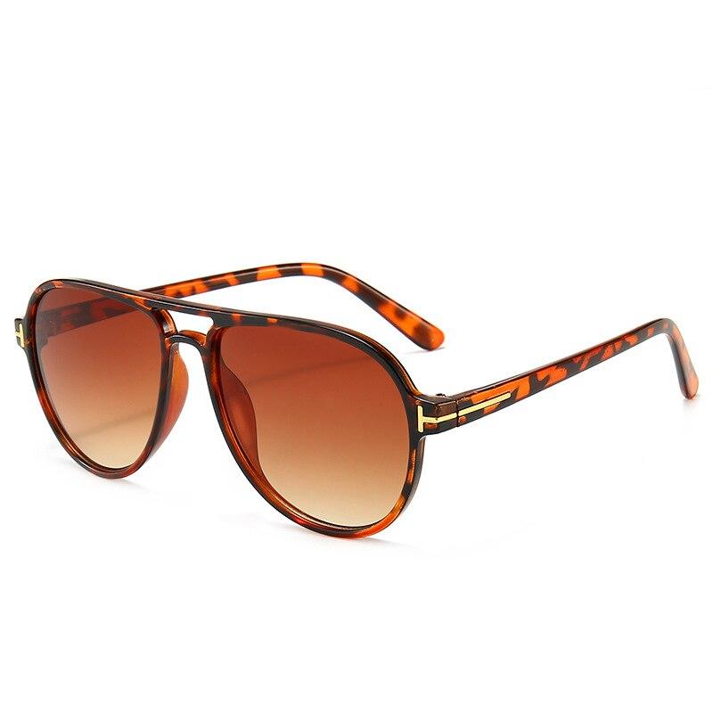 Солнцезащитные очки tom ford tf для мужчин и женщин, 2020, футуристические, леопардовые, зеленые, винтажные, uv400