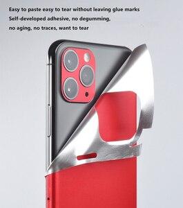 Роскошный яркий стикер s для iPhone 7 6 6S 8Plus 5 Защитная пленка для задней панели наклейка для iPhone X XS наклейка Adesivos Pegatinas