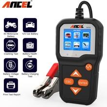Car-Battery-Tester Ancel Ba301 Motorcycle Pk-Kw600 for 6V 12V Health Cranking 100-2000