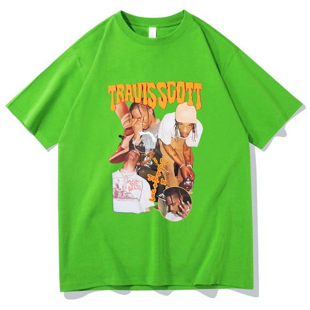 Travis Scott Asap Rocky Teenage T Shirt 1