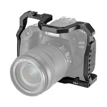 UURigกล้องDSLRสำหรับCanon EOS 70D 80D 90Dกรณีเย็นรองเท้า 1/4 ARRIสำหรับไมโครโฟนLED Fill Light EXTENSION