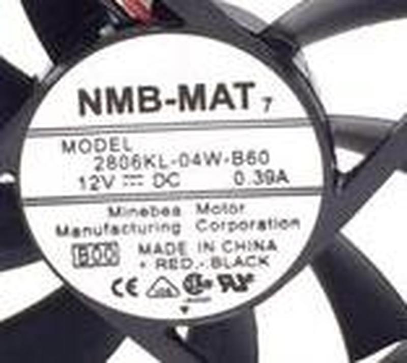 For 2806KL-04W-B60 C01 Server Cooler Fan DC 12V 0.40A 70x70x15mm 2-wire