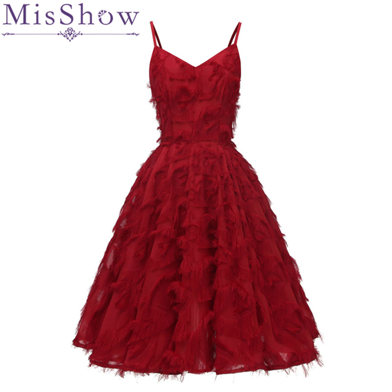 Vestido De Festa Burgundy Mini Short   Cocktail     Dresses   Gorgeous Full Tassel Short Prom   Dresses   White Formal Party   Dress
